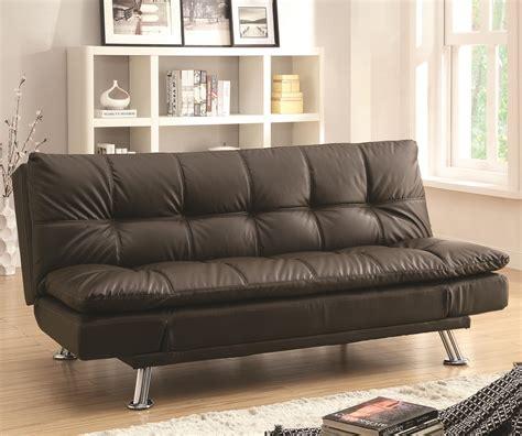 sofa beds sofa bed  futon style  chrome legs