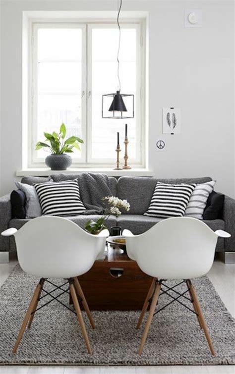 deco salon canape gris deco salon avec canape gris et blanc