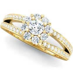 gold wedding rings gold engagement rings set wedding rings