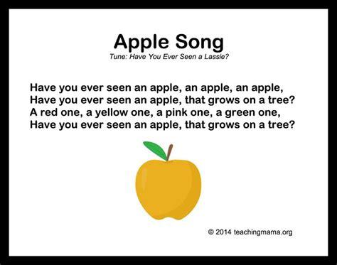 10 autumn songs for preschoolers 893 | Apple Song
