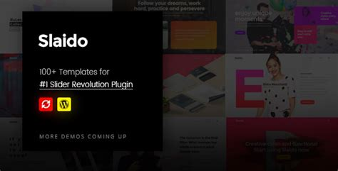 download template slider revolution free download free slaido v2 0 template pack for slider