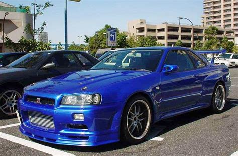 blue nissan skyline fast and furious image gallery 2003 gtr fast 4