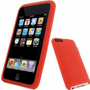 iGadgitz Red Silicone Skin Case for Apple iPod Touch 2nd ...