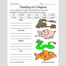 Science Worksheets Resources