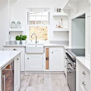 White kitchen 1 home dzn home dzn for Kitchen colors with white cabinets with wall art forest