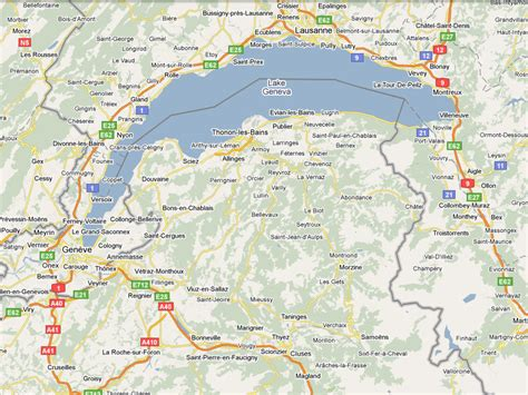 Bureau Plan Thonon - to come to châtel by air useful information châtel