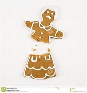 Broken gingerbread cookie. stock photo. Image of christmas ...