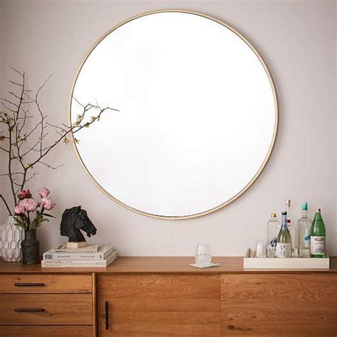 metal framed   mirror west elm