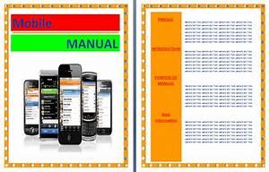 Mobile Phone User Manual Template