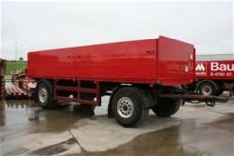 mülltonnenbox für 3 tonnen gro 195 ÿer roter lkw anh 195 164 nger zum transportieren baustoffen bauunternehmen