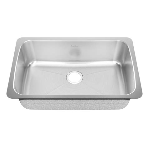 american standard undermount shop american standard prevoir 18 gauge single basin