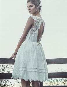 Robe Courte Mariée : robes de mode robe de mariee courte bleue ~ Melissatoandfro.com Idées de Décoration