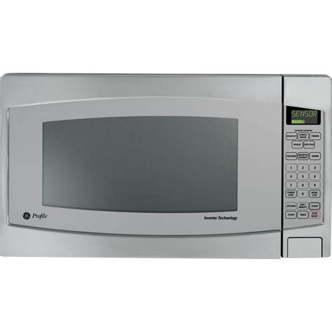ge profile  cu ft countertop microwave wchild lockout  extra large