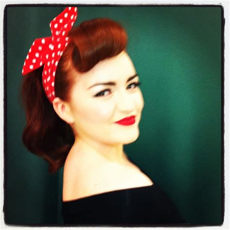 Funky Hairstyles For 50s by 1950s Hair Make Up Sfx Theatre Makeup Funky
