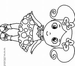 Little Girl Coloring Pages stunning little girl coloring