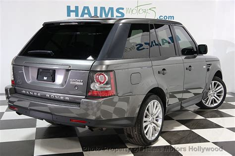 2010 Used Land Rover Range Rover Sport 4wd 4dr Hse Lux At