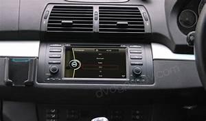 2 Din Bmw X5 Radio Dvd System Bmw X5 Navigation System Gps