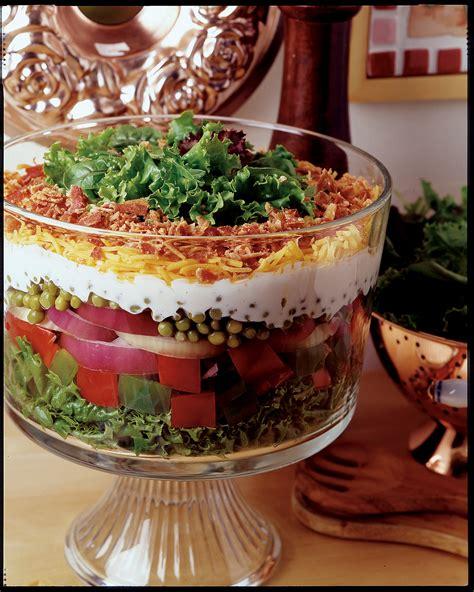 layer pea salad recipe relish