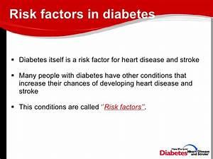 Link Between Diabetes And Heart Disease