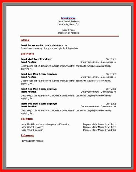 How To Get Resume Templates On Microsoft Word by Resume Template Microsoft Apa Exle