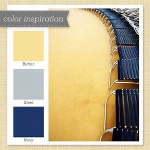 Yellow, Gray and Navy Color Palette 15