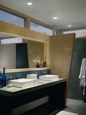 Contemporary Bathroom Downlight by Contemporary Bath With Wac Ledme Downlights Hr Led421 Wt