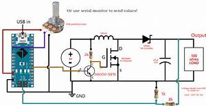 Feedback Boost Converter Arduino Code