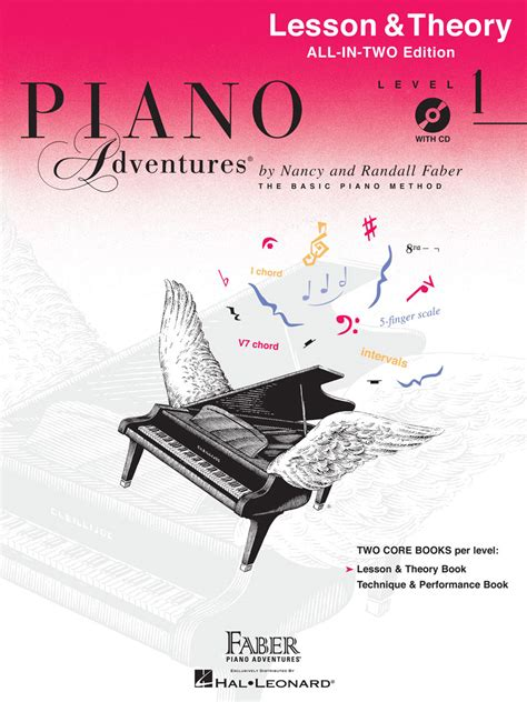 piano adventures level 1 lesson theory book with cd