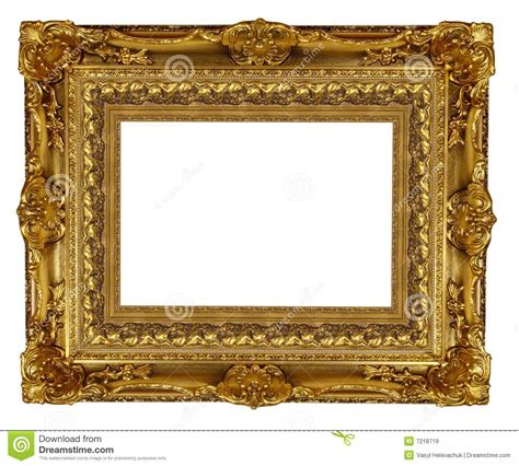 Gold Frame Royalty Free Stock Images - Image: 7218719