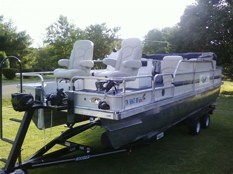 Used Pontoon Boats Restored By Pontoonstuff, Inc