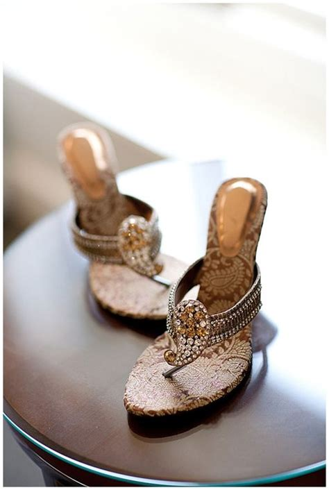 Paisley Indian Wedding Shoes On