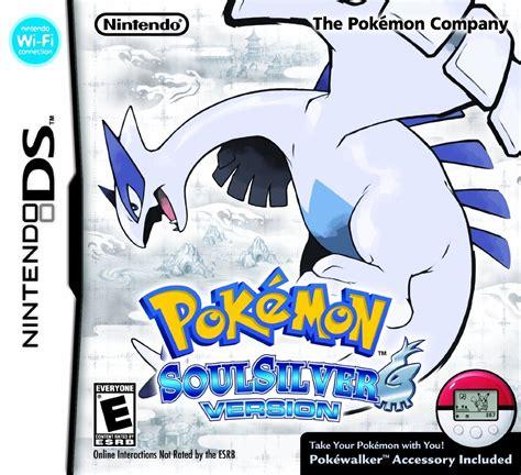 Pokemon Soulsilver Version With Pokewalker Ds Game
