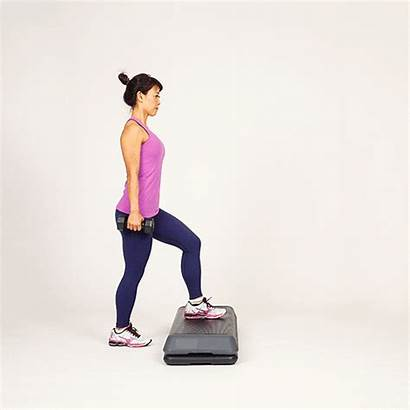 Step Exercises Training Snow Daily Strength Sports
