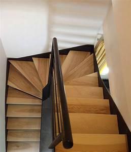 Escalier Metal Et Bois : cr ations bois darrieumerlou escalier bois et m tal ~ Dailycaller-alerts.com Idées de Décoration