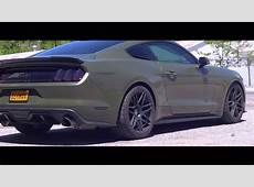 Army Green Roush Supercharged Mustang GT!!! YouTube