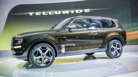 kia telluride concept   luxury suv  didnt expect