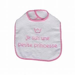 Accessoire Bébé Fille : bavoir b b fille petite princesse achat vente de bavoirs pour b b ~ Teatrodelosmanantiales.com Idées de Décoration
