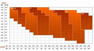 2xu Size Chart Men 39 S Apparel Sizing Chart