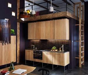 Chambre 9m2 Ikea : ikea faire une cuisine ouverte dans un studio ~ Melissatoandfro.com Idées de Décoration