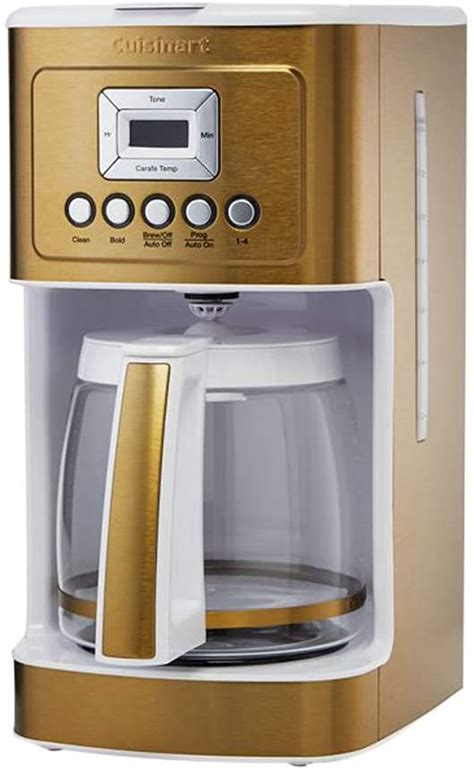 I don't usually post comments, but felt others needed to know about my experience. Cuisinart DCC-3200 14 Cup Glass Carafe with Stainless Steel Handle Programmable Coffeemaker ...