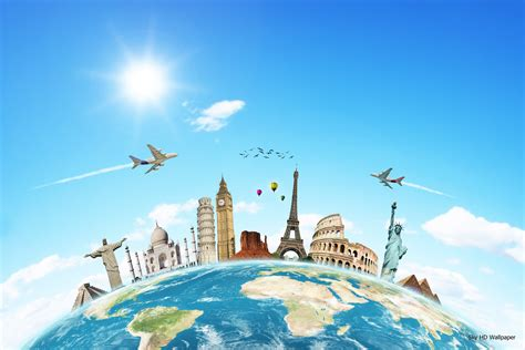 travel agency wallpaper gallery