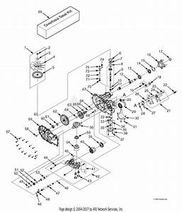 Scag Sfz61-28bs  S  N F3600001-f3699999  Parts Diagram For Zt-3400 Hydraulic Axle Assembly