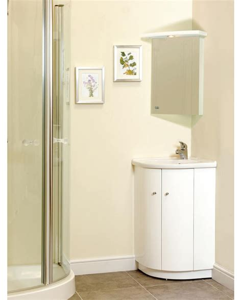 Small Bathroom Vanity With Storage by Corner Vanity Set Solution For Small Space Homesfeed