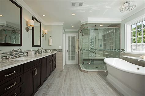 Spa Look Bathrooms by Spa Like Master Bathroom In Oakton Va By Berriz Design