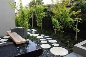 decoration jardin avec graminees dornementarbres et With amenagement jardin avec gravier 11 le jardin japonais encore 49 photos de jardin zen