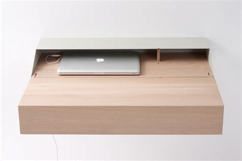 macbook bureau bureau mural deskbox avec un macbook