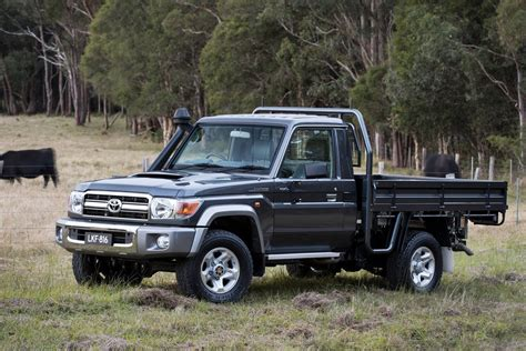 The 2021 toyota land cruiser has earned a loyal following from around the world. Toyota LandCruiser 70 Series safe for now