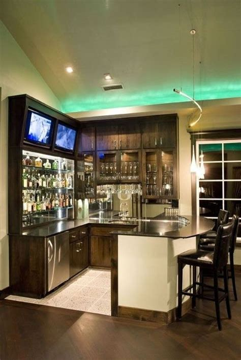 Corner coffee bar with rae dunn display. 50 Best Corner Bar Cabinet Ideas for Coffee and Wine Places in 2020 | Home bar designs, Basement ...