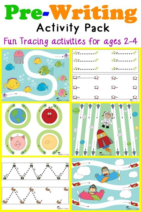 pre writing tracing pack for toddlers preschool writing