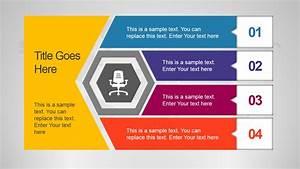 Unique Office Slide Design With Hexagon Shape